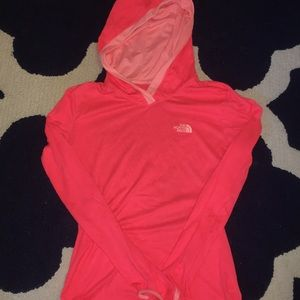 North Face Dry Fit style sweatshirt